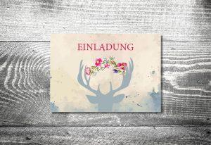 Kartlerei 148x105 Hochzeit Einladungskarte16 300x206   Bayrischer Text Für  Die Hochzeitseinladung Von Kartlerei