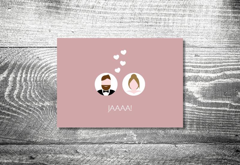 kartlerei 148x105 hochzeit 26 - Hochzeitskarten Set