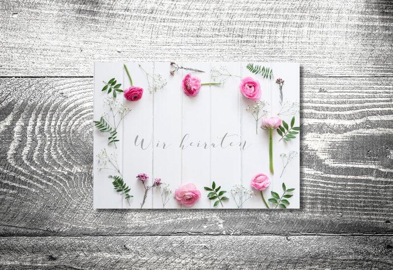 kartlerei hochzeit einladungskarten karten gestalten karten drucken hochzeitskarte 48 - Hochzeitscountdown Freebie