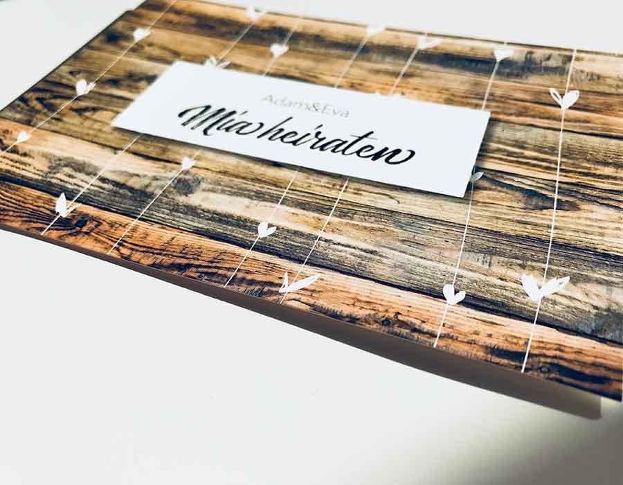 kartlerei einladungskarten drucken und gestalten papier 300g matt - Papiersorten