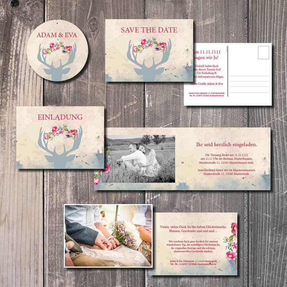 trachtenhochzeit instagram kartlerei blumenhirsch - Heiraten in den Bergen